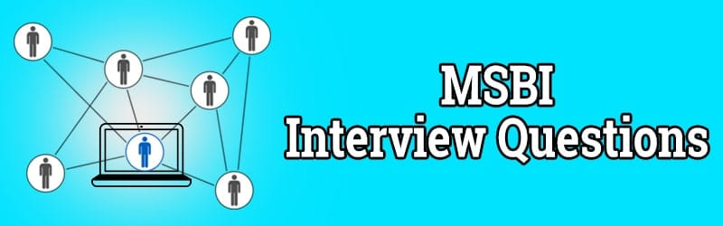 TOP 50 MSBI INTERVIEW QUESTIONS AND ANSWERS PDF ☑☑☑