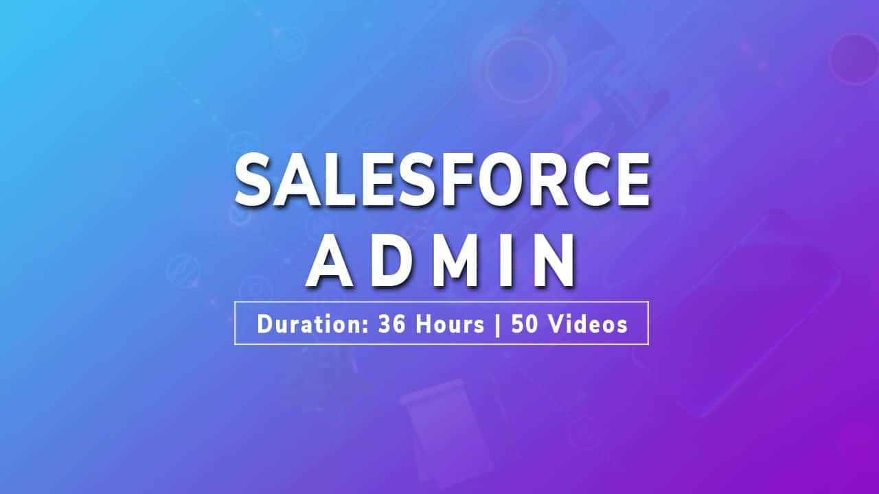 salesforce admin tutorial