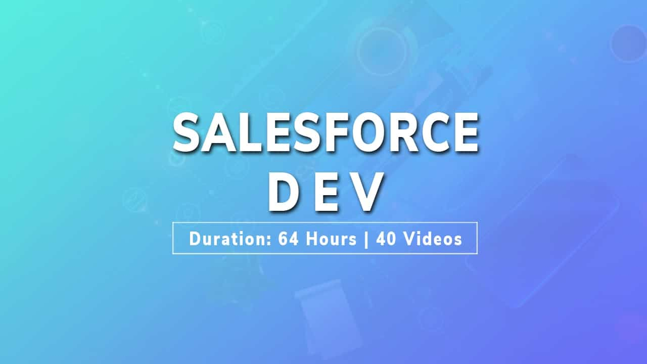 salesforce development tutorial