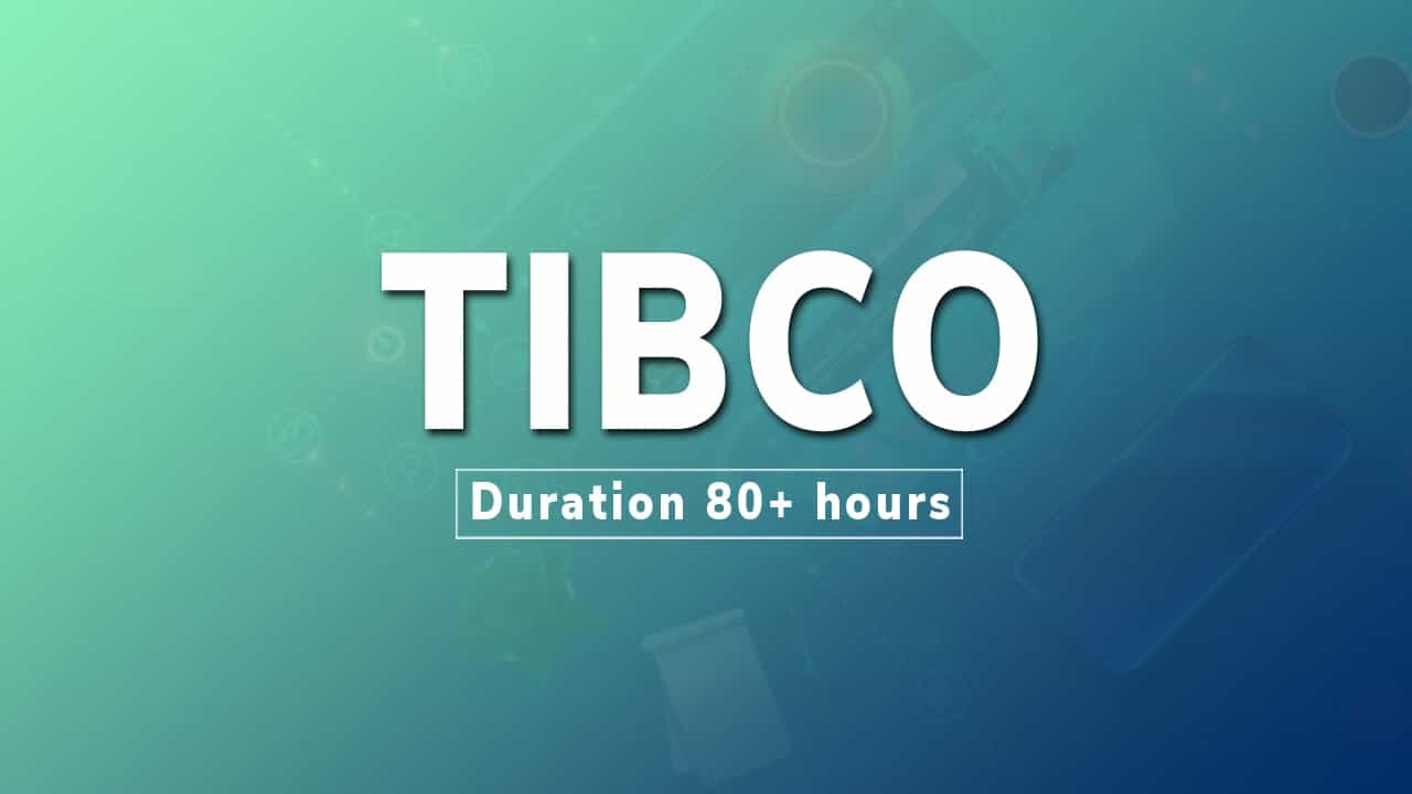 tibco tutorial videos